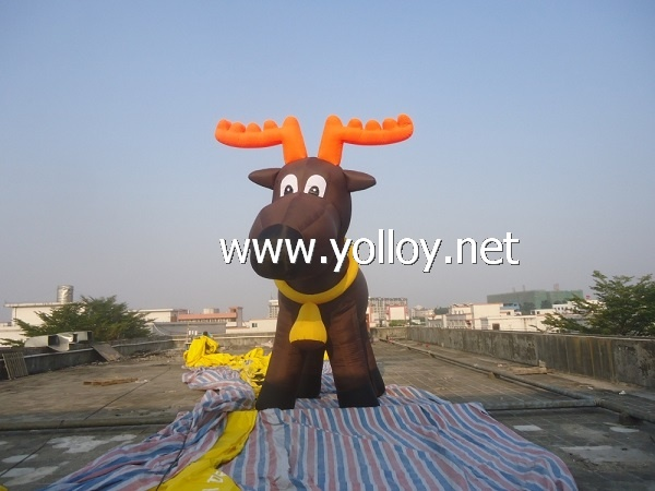 Inflatable Christmas Reindeer Deer For Holiday Decoration