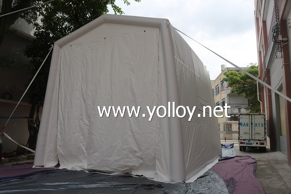 Big Inflatable Car Washing Tent