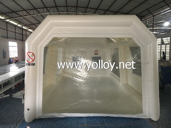 Upgrade inflatable painting room
