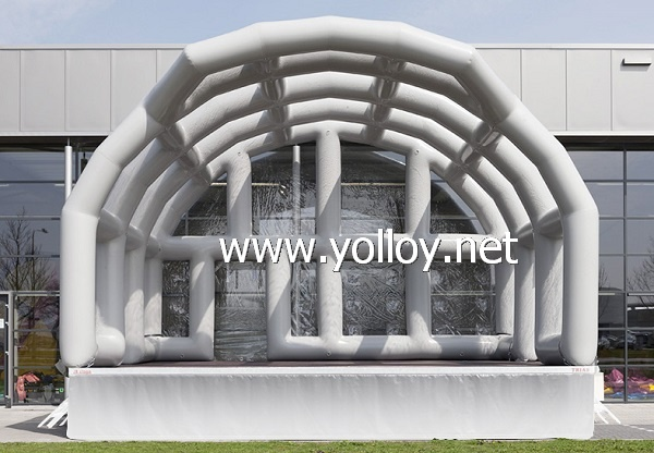 Giant inflatable stage tent for event party