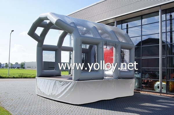 Big event inflatable discos stage podium