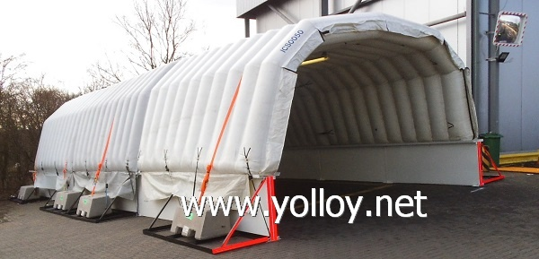Moveable Inflatable chill room cold store inflatable freezer storage