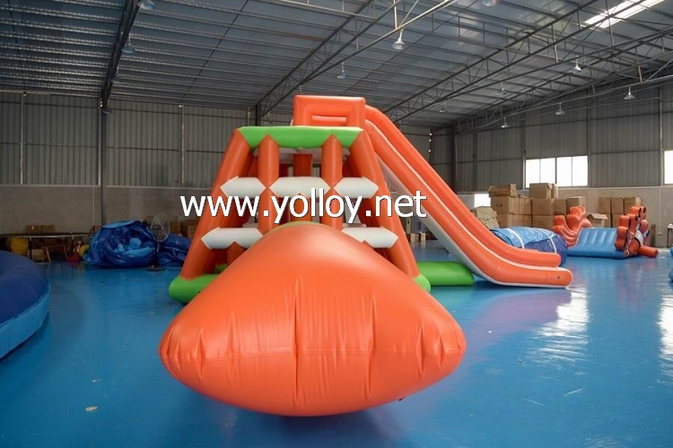 Inflatable Jungle Joe With Blob