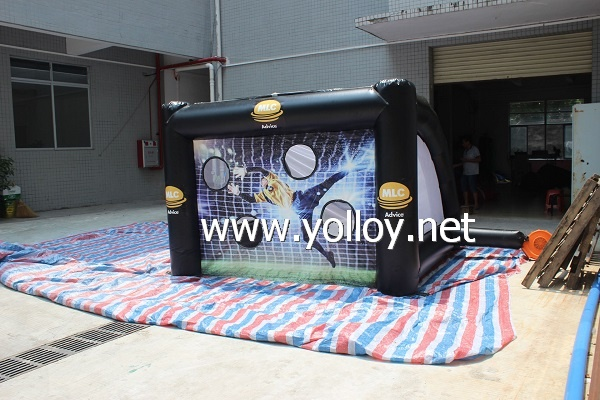 Inflatable soccer goal football shoot sport game