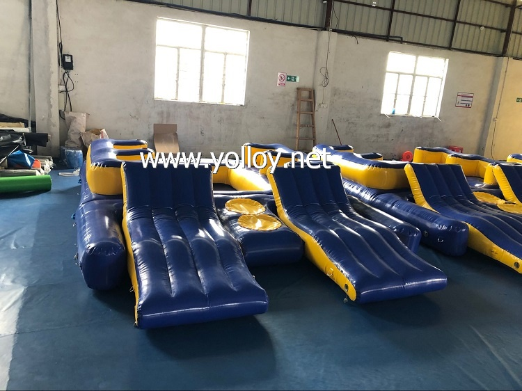 Inflatable Cliff Floating Water Toys for Water Park
