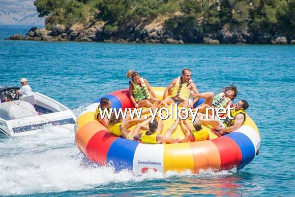 Rotating Inflatable Towables Saturn Rocker
