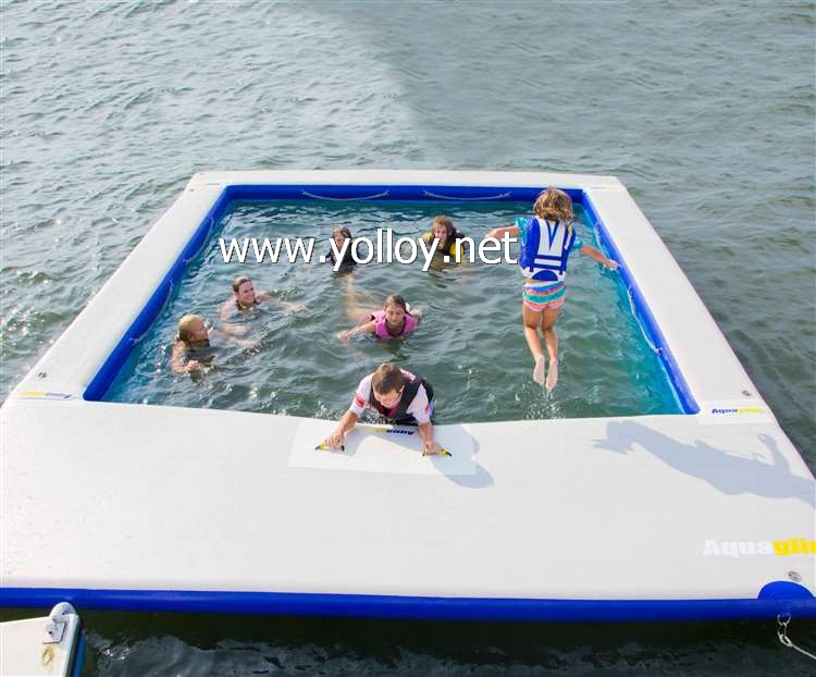 Anti-jellyfish pool inflatable