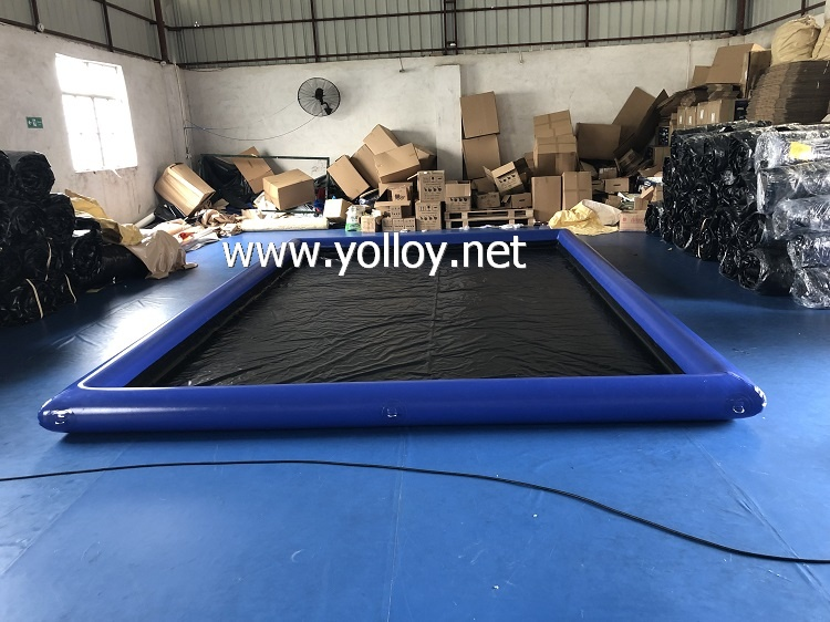 Moveable Inflatable Car Wash Mat For car washing