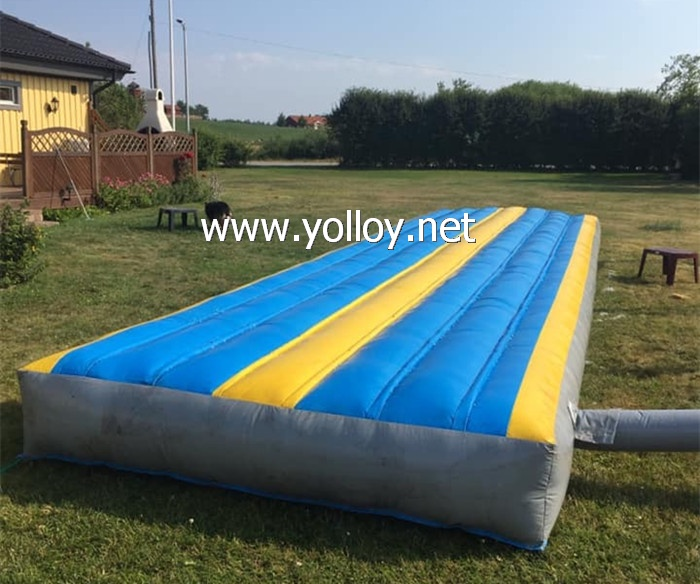 Backyard Lawn Water Slip Slide