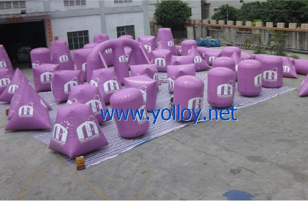 52 purple paintball air bunkers for paintball sports