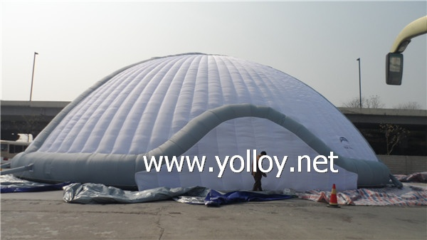 large air building for big event