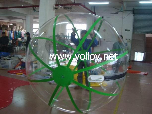 Walk on water inflatable water rolling ball