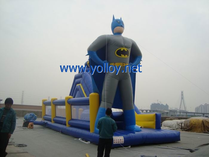 batman inflatable slide
