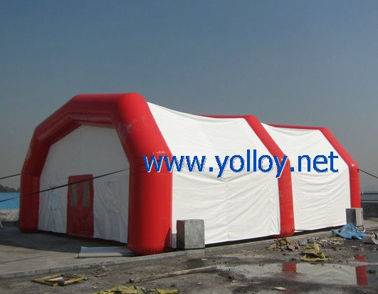 Mobile first aid inflatable emergency tent for refugee