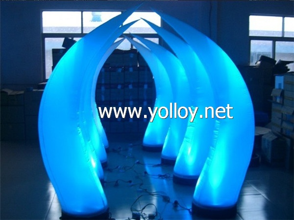 inflatable lighting horns