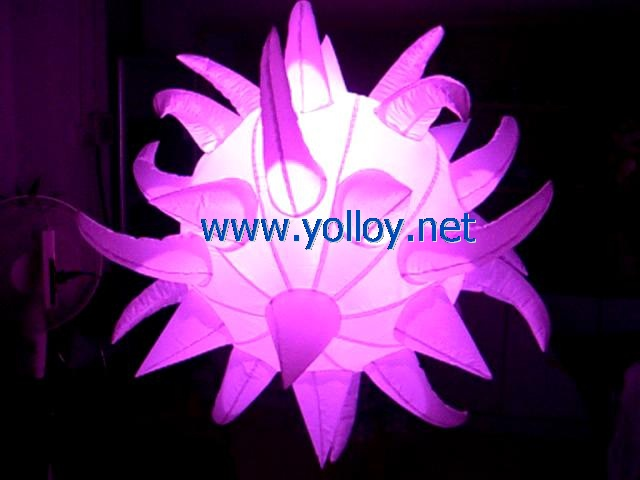 portable inflatable sun flower