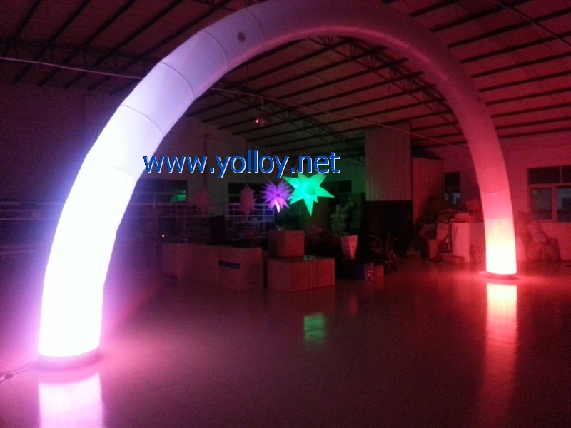 event inflatable archway with led light
