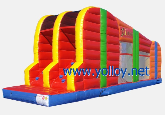 zip line adventure experience in portable Zip Line Inflatable