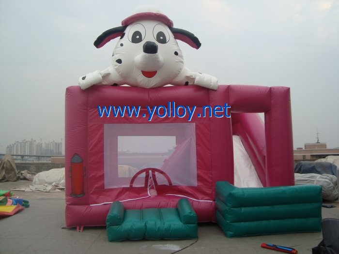 Firedog belly Dalmatians inflatable jumping castle