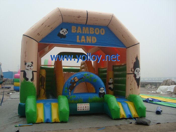 Bamboo inflatable jump jump the house is jumping for party
