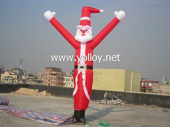 santa clause air sky dancer for Christmas