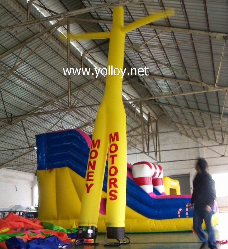 Advertising inflatable air dancer