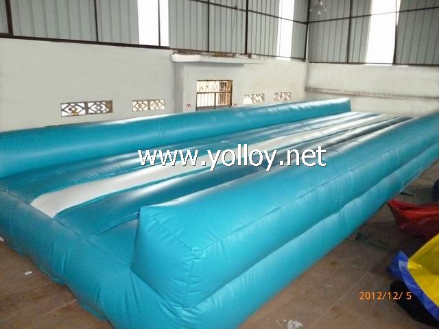 gymnastics air mat inflatable tumbling tracks