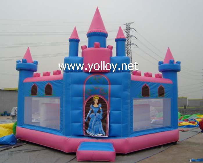 Princess party castle inflatable Bouncy castles