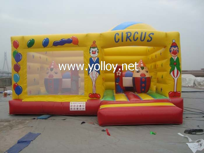 Moonwalks inflatable bouncy Circus jumping castle