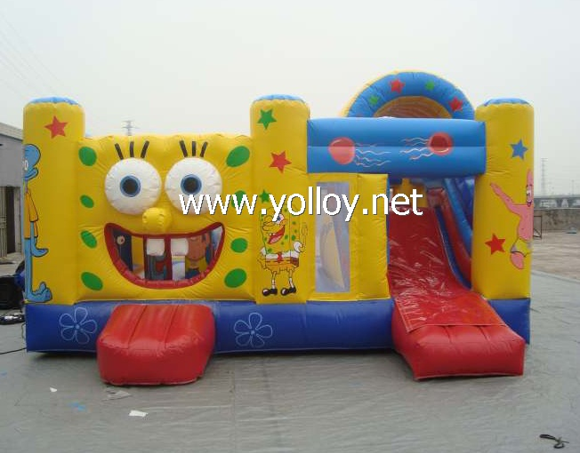 Cool sponge bob houses bouncy castle inflatable