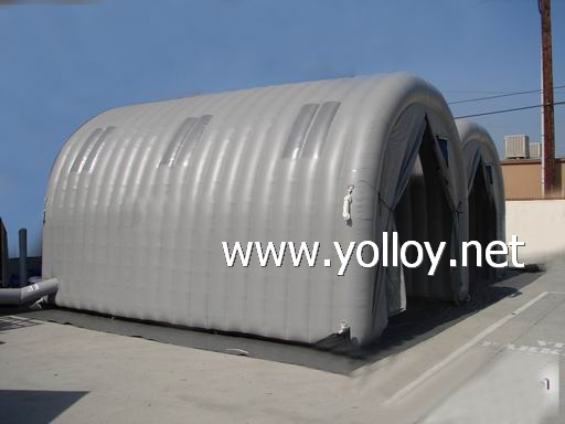 Soda sand Blasting Inflatable Tents