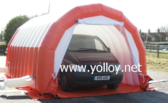 Garage painting workstation inflatable tent ... & Yolloy Portable Garage painting workstation shelter inflatable ...