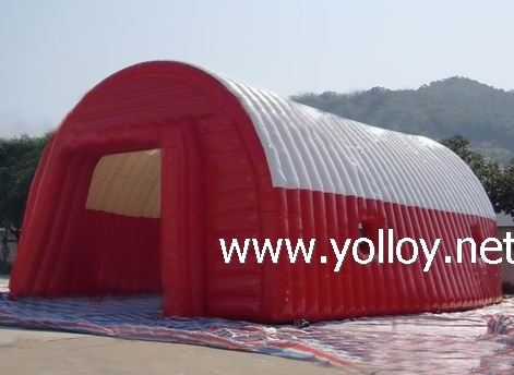 Giant inflatable stucture tent