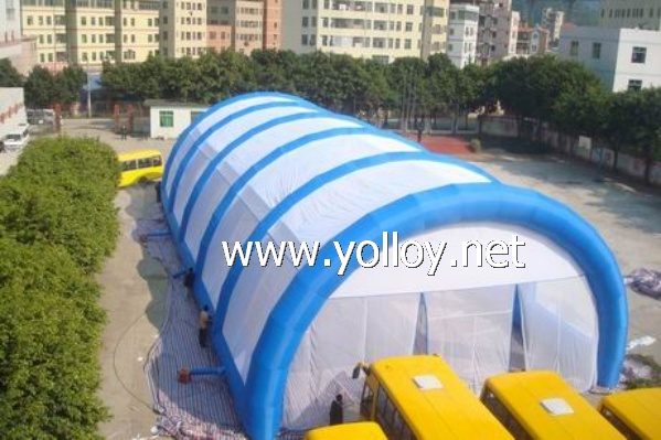 Giant Paintaball play arena tent
