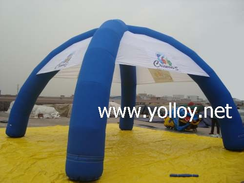 Inflatable spider tent dome from manufacture for sale