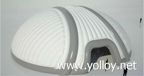 White inflatable domes air tent house structure for sale