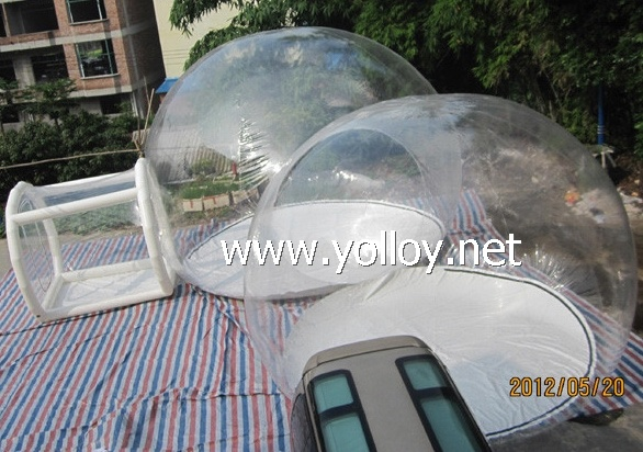 Double Inflatable Bubble Lodge Tents