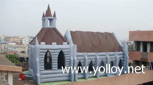 Inflatable Church House Tent