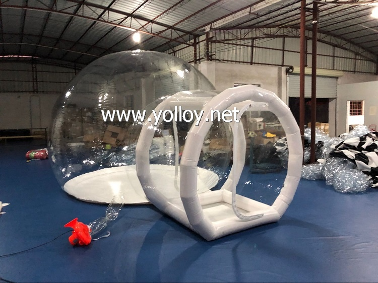 Size: 4m diameter for dome