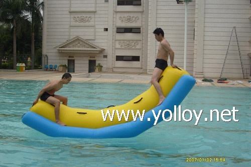 inflatable water totter for adults and kids