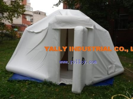 anti-cold inflatable workshop tent