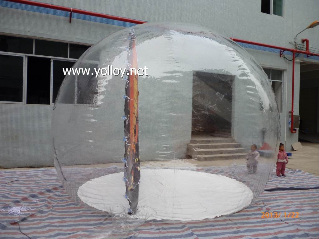 halloween inflatable snow globes
