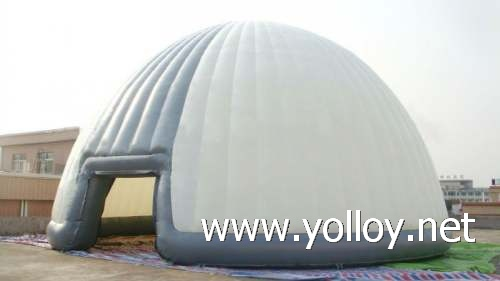 inflatable exhibition dome tent for outdoor event