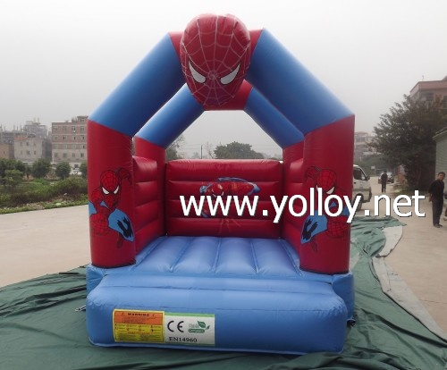 moonwalk inflatable jump house spider man