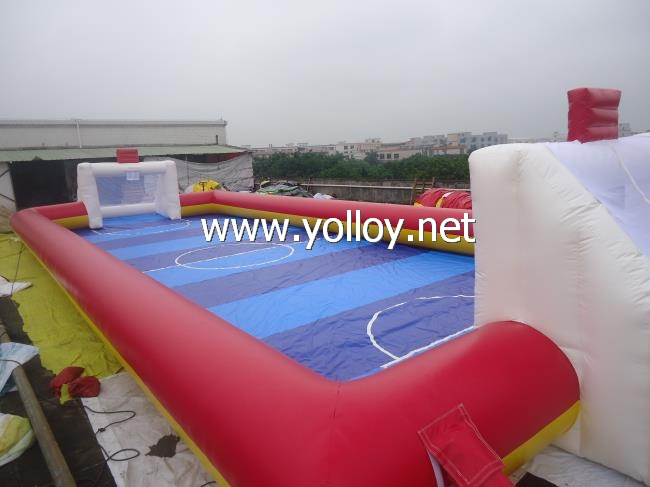 Human Table inflatable Football pitch