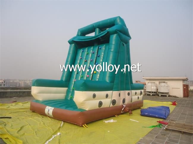sport games Inflatable rock Climbing Wall