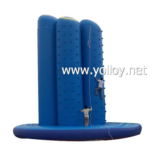 sports obstacle games inflatable Rock Climbing