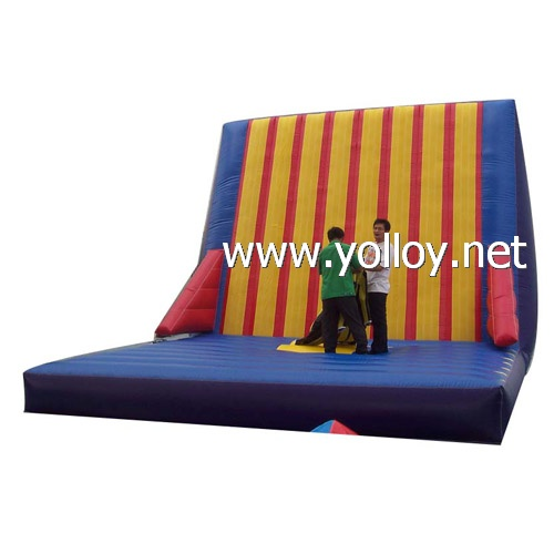 Magic velcro wall inflatable jump game party bouncers