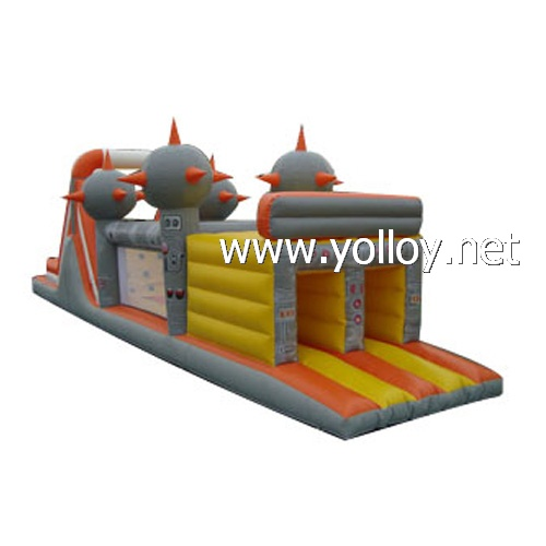 inflatable planet obstacle games