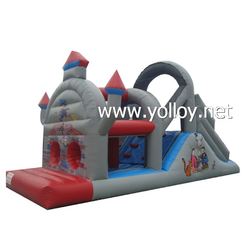Great inflatable obstacle course interactive game